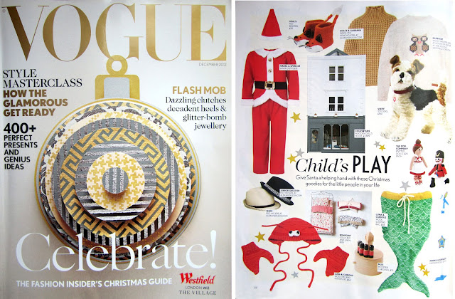 Christmas Gift Guide Magazine.The Miniature Knit Shop Vogue Christmas Gift Guide