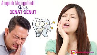 Obat Sakit Gigi Paling Manjur dan Ampuh