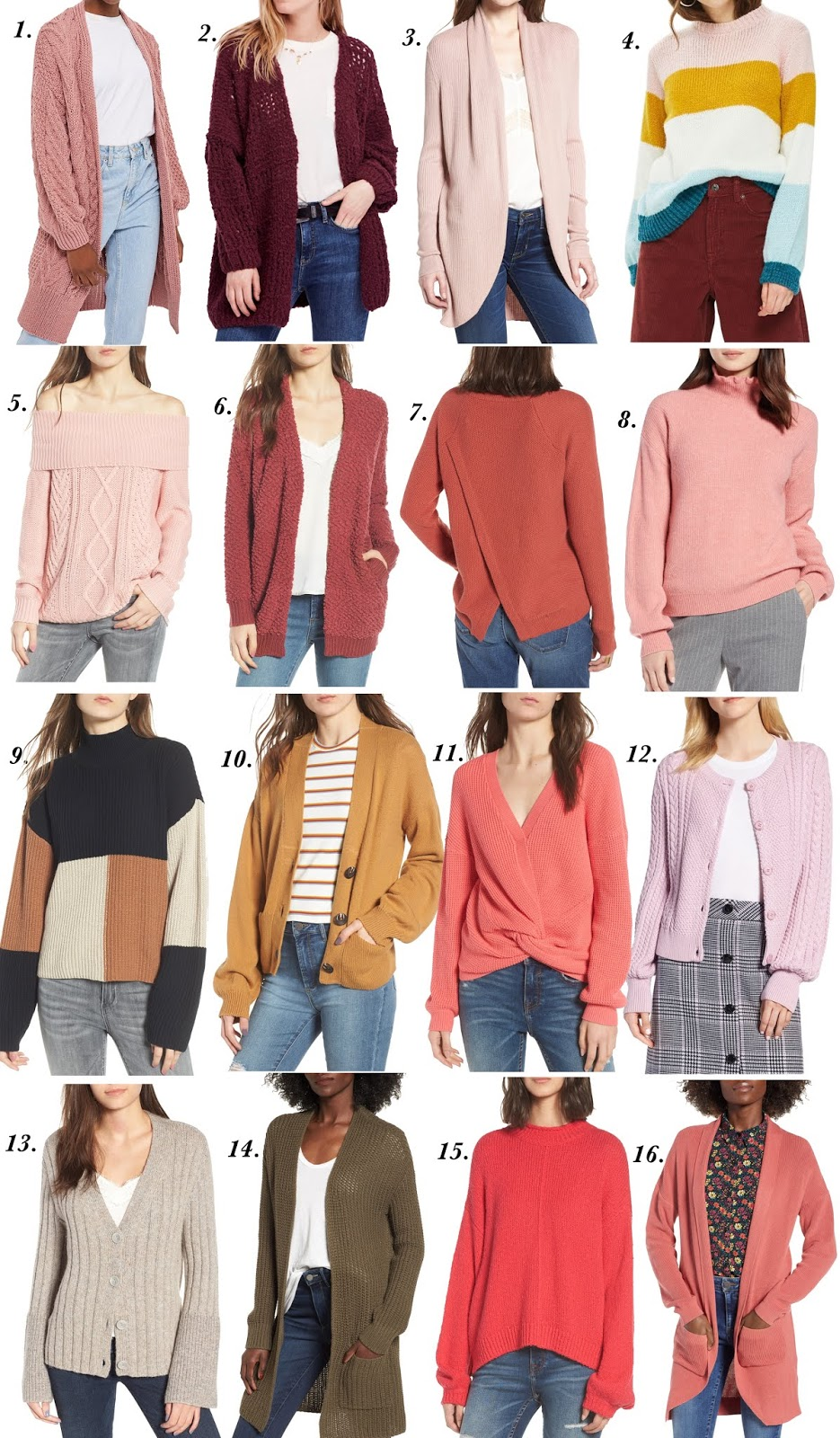 2018 Nordstrom Anniversary Sale: Sweaters and Cardigans - Something Delightful Blog