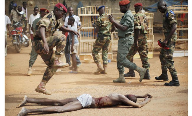 UN details horrific rape, murder in Central Africa