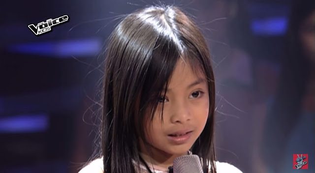 "Kenshley Abad sings ""Dance With My Father"" on 'The Voice Kids'"