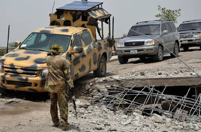 boko haram attack 5 nigerian soliders