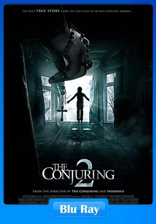The Conjuring 2 2016 720p Hindi Tamil Telugu BluRay x264 | 480p 300MB | 100MB HEVC