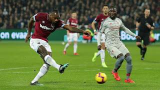 Liga Inggris: West Ham United Imbangi Liverpool