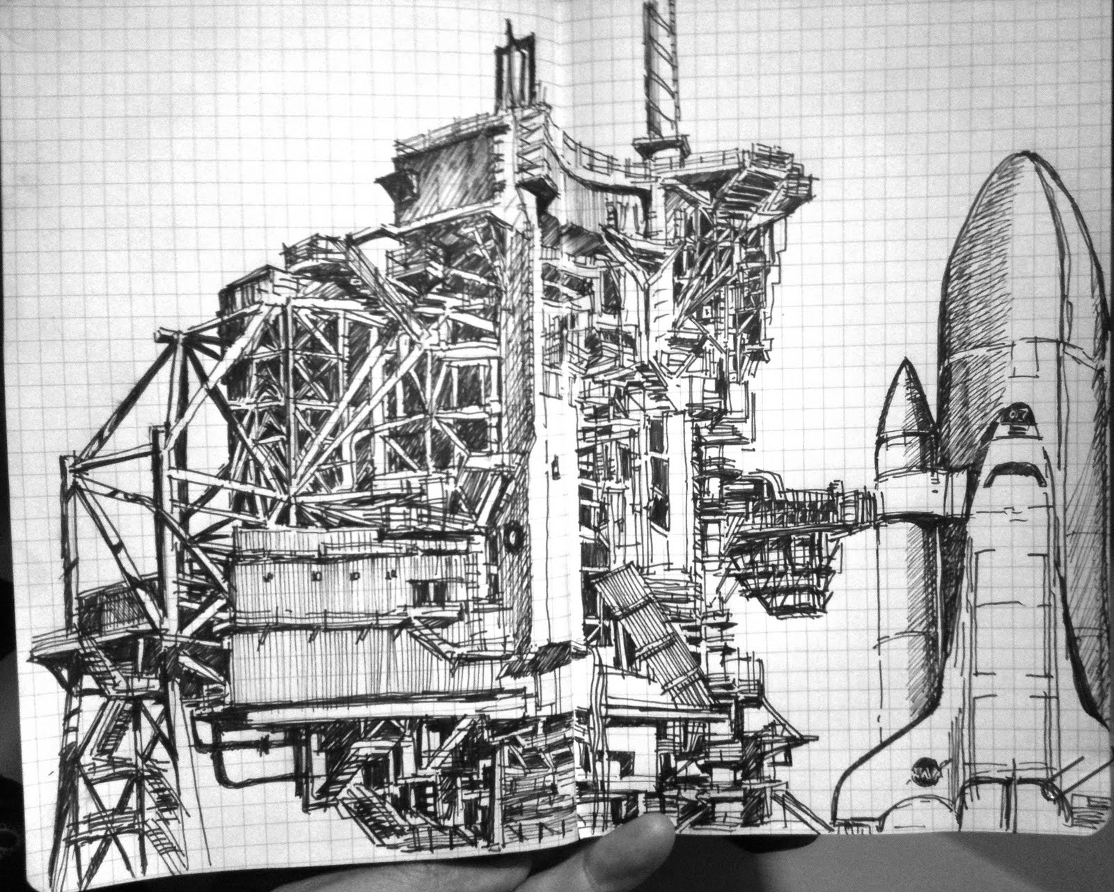 day 19,20, and 21 drawings Space Shuttle Launch | drawing ...