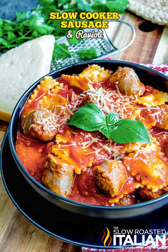 http://www.theslowroasteditalian.com/2017/11/slow-cooker-sausage-and-ravioli-recipe.html