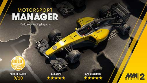 Motorsport Manager Mobile 2 Apk Free on Android Game Download