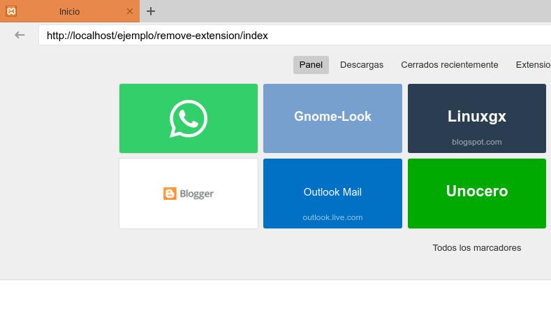Ocultar extensión en links PHP y HTML