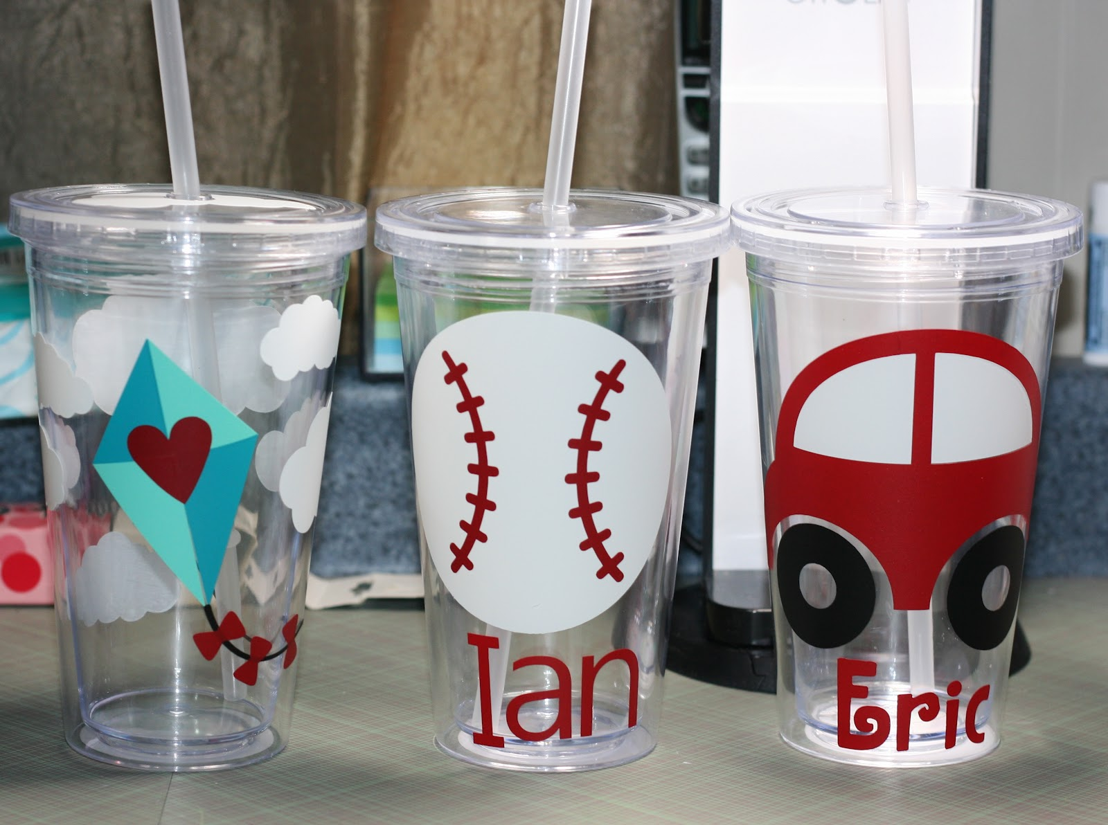 Paper Creativity Vinyl Tumblers Silhouette Cameo