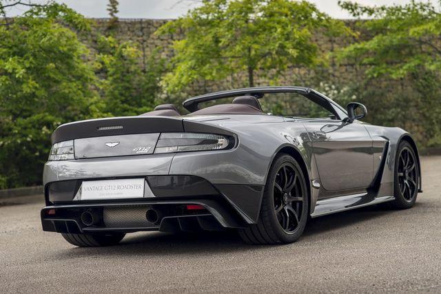 Ini Dia Aston Martin Vantage GT12 Roadster