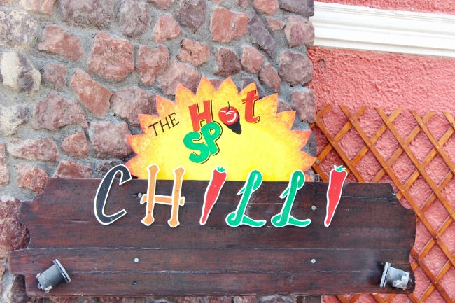 Chilli beach bar in Perivolos beach
