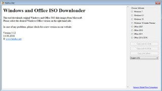 Microsoft Windows and Office ISO Download Tool 6.00 Multilingual