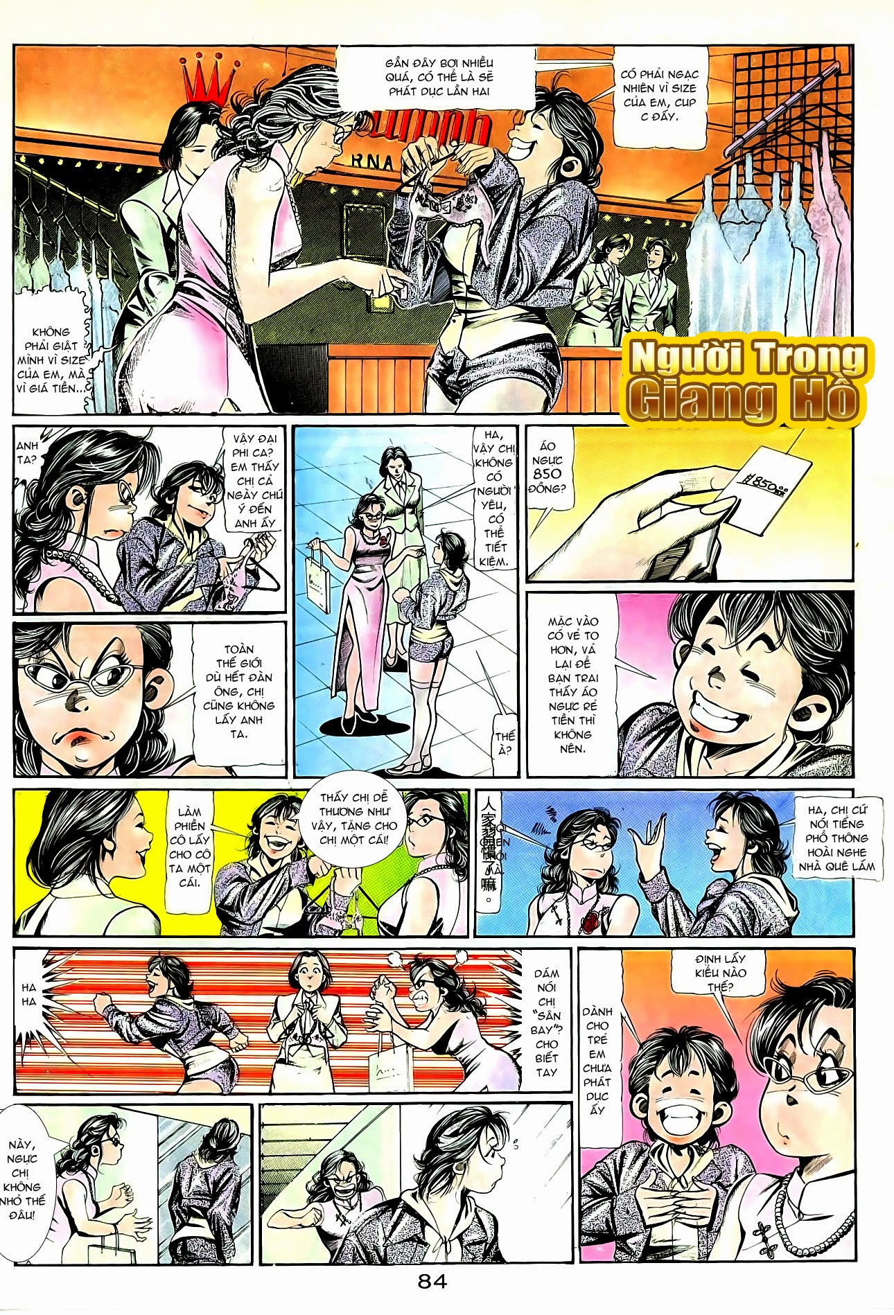 Người Trong Giang Hồ chapter 94: hoàng giả chi phong trang 15