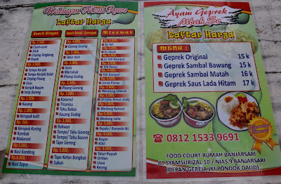 Geprek Mbah So, The Favourite Spicy Dish In Solo