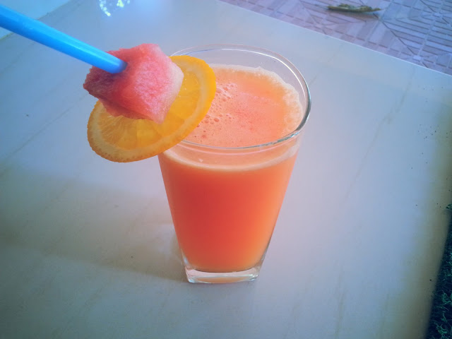 watermelon ,orange,juice,summer drinks,drinks,recipe,hot drinks,coo drinks,cold drinks,