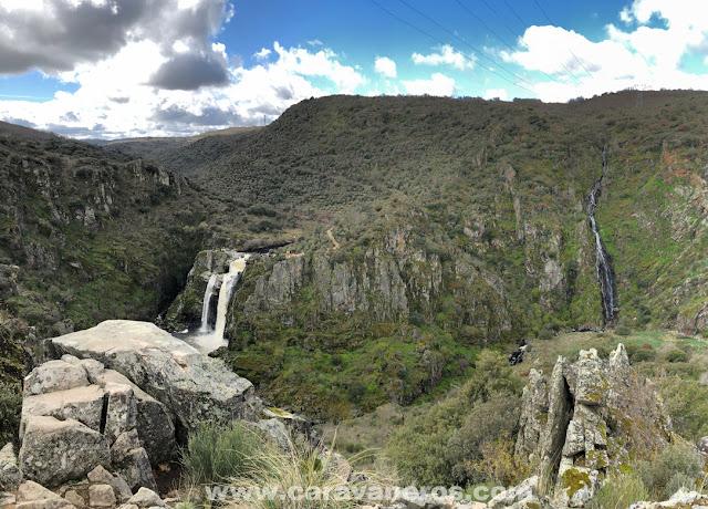 Cascada del Pozo de los Humos | Ruta Semana Santa Autocaravana | caravaneros.com