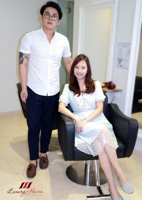 celebrity influencer reviews goodwood park hotel georginas salon
