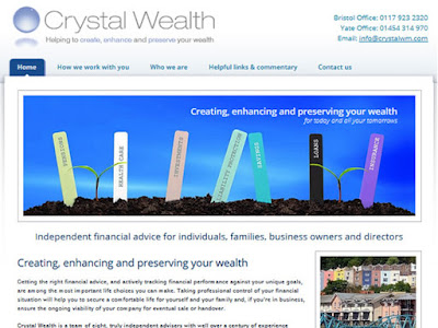 RECENT PROJECT: Crystal Wealth Management