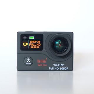 Jual Kamera Bekas BellaV W8 Pro Actioncam