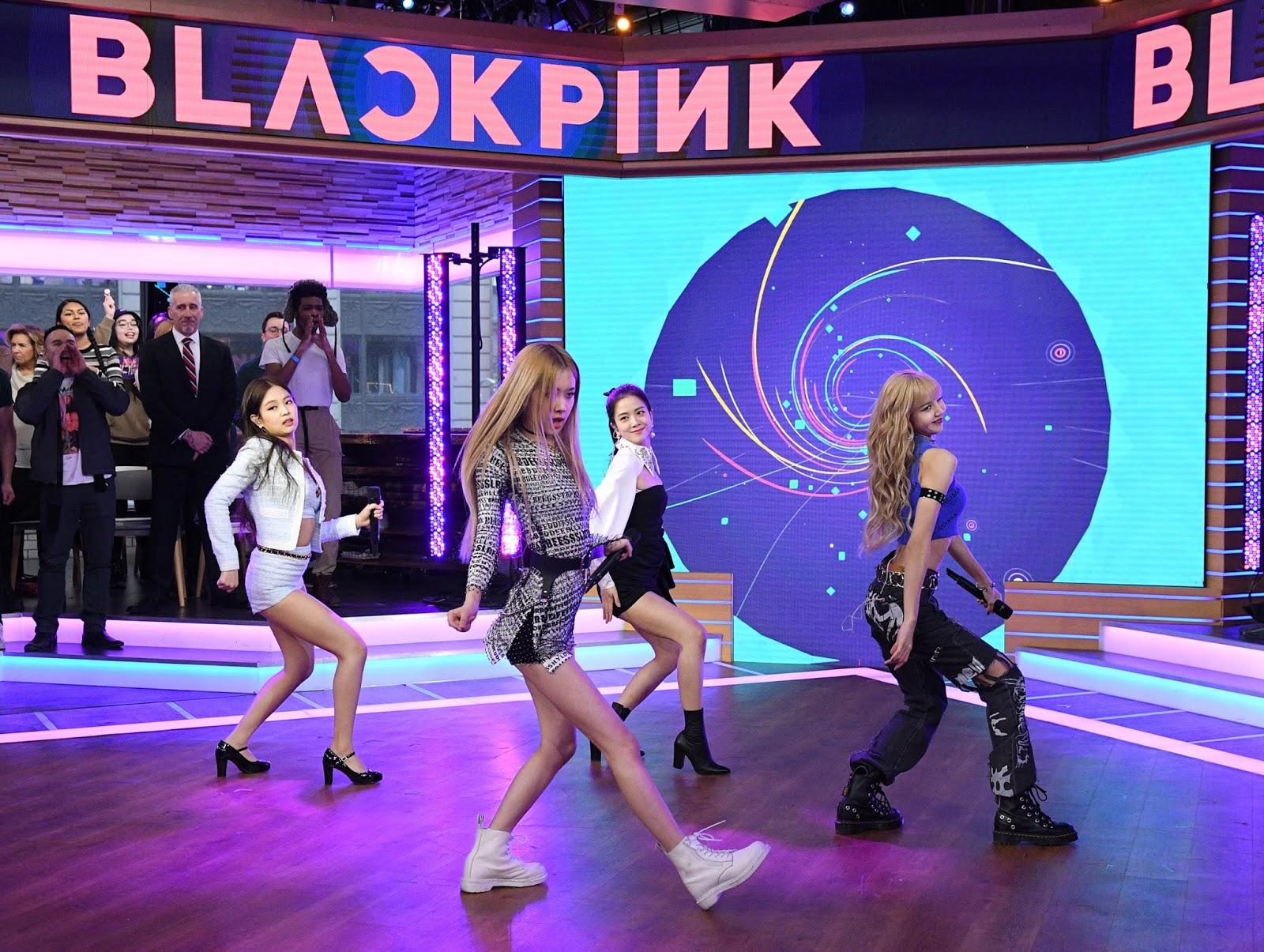 BLACKPINK on Good Morning America - February 12, 2019