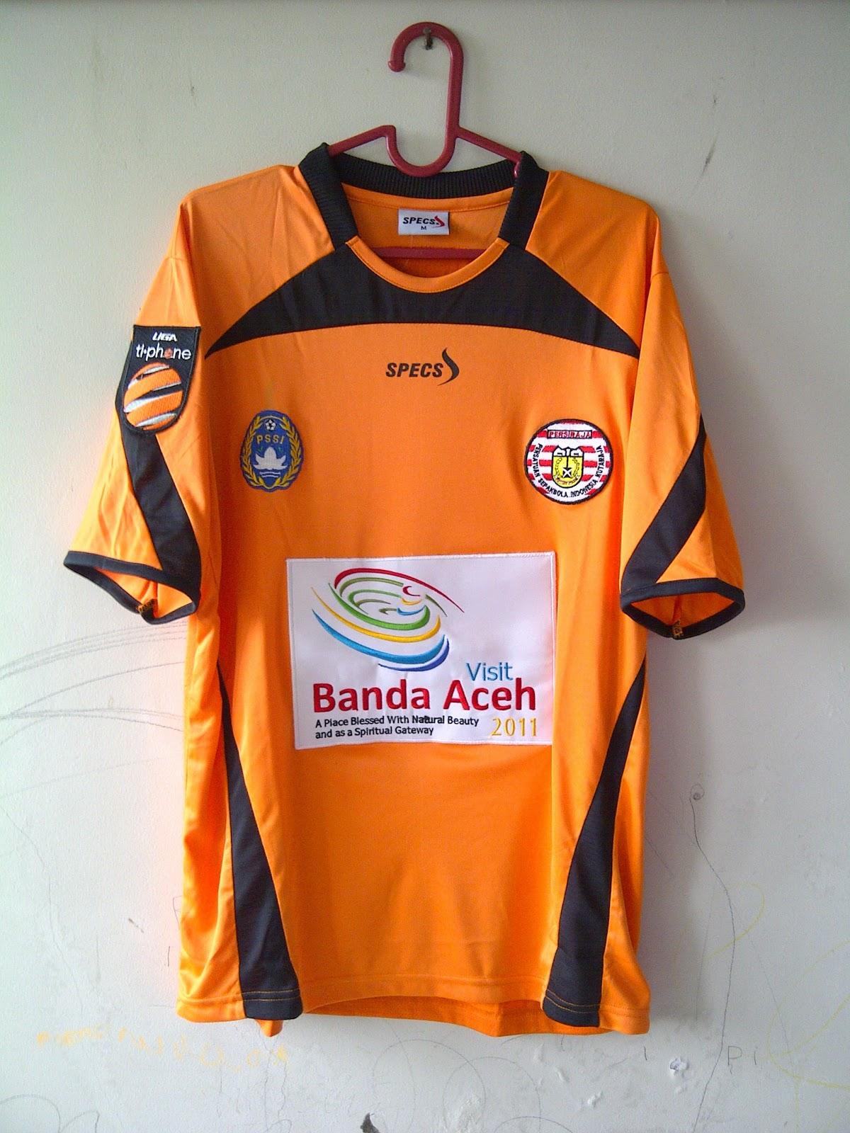 baju bola indonesia: PERSIRAJA Banda Aceh