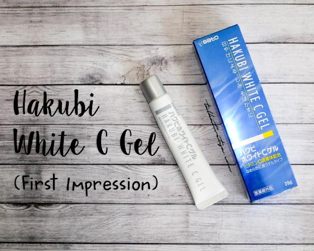 hakubi white c gel adalah serum atau moisturizer yang khusus diformulasikan untuk menghilangkan noda hitam dan flek hitam yang disebabkan oleh sinar matahari.