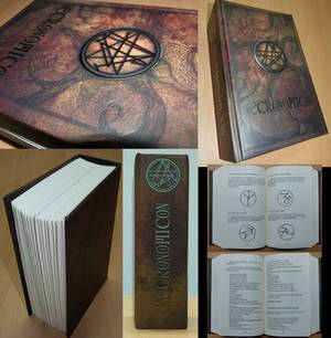 Photos du Necronomicon des éditions Bragelonne