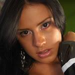 Andrea Rincon, Selena Spice Galeria 5 : Vestido De Latex Negro Foto 92