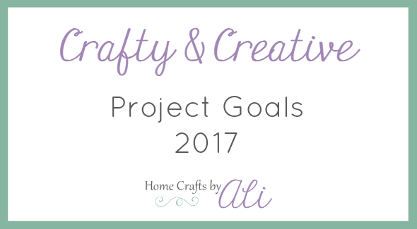 Simple craft projects planned in 2017 to make and share