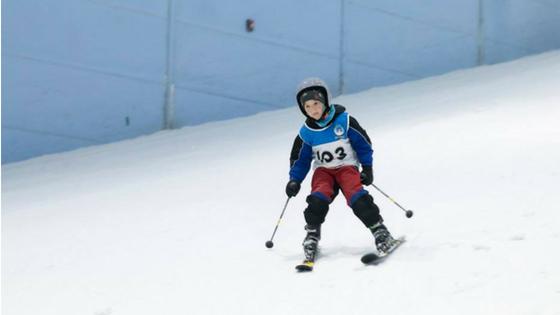 Skiing-in-Dubai