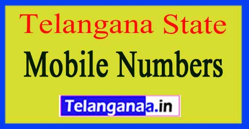 Telangana State Sarpanch / Upa-Sarpanch Mobile Numbers List All