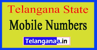Telangana State Sarpanch / Upa-Sarpanch Mobile Numbers List