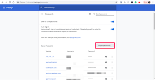 Cara Mengekspor Password Dari Chrome ke komputer
