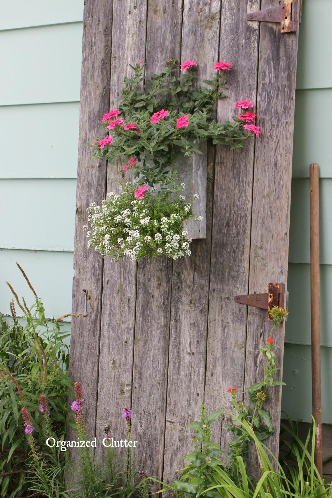 My Friend Danita's Rustic Garden Decor   Organized Clutter on Rustic Backyard Ideas id=50931