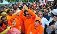 Di Hadapan Massa Pendukung,  Danny Pomanto Salam Punggawa