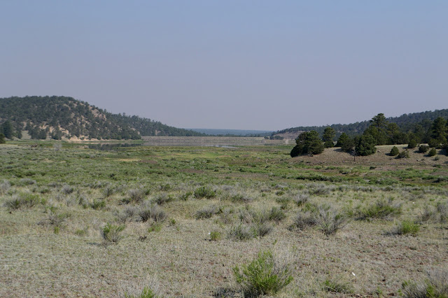 Quemado Lake is very low