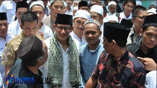 Malu Banget Kaka , Sandiaga Uno Kunjungi Ponpes Sidogiri, KH Nawawi Abdul Jalil Selaku Pengasuh Ponpes Pilih Kabur Enggan Menemuinya Lantaran....