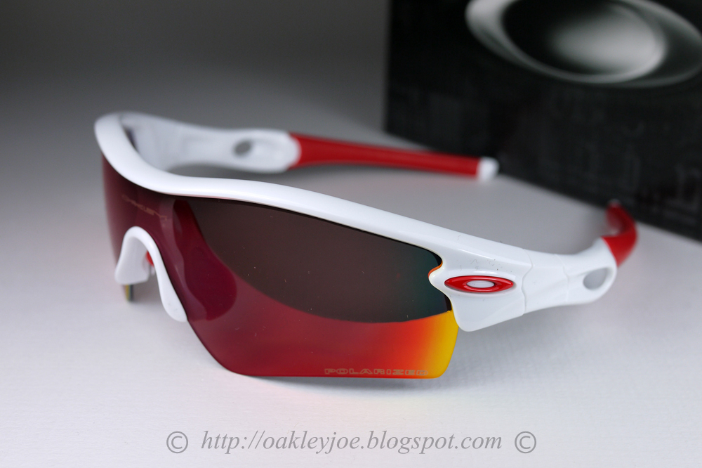 9e0eb973e0c0e ... wholesale oakley radar path sunglasses polished whiteblack iridium  cefb5 d277e