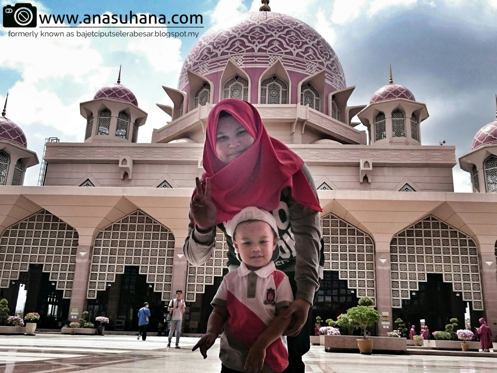 Tempat Menarik di Putrajaya : Masjid Putra