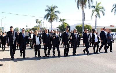 Realiza Ayuntamiento desfile del 24 de febrero en Huatabampo