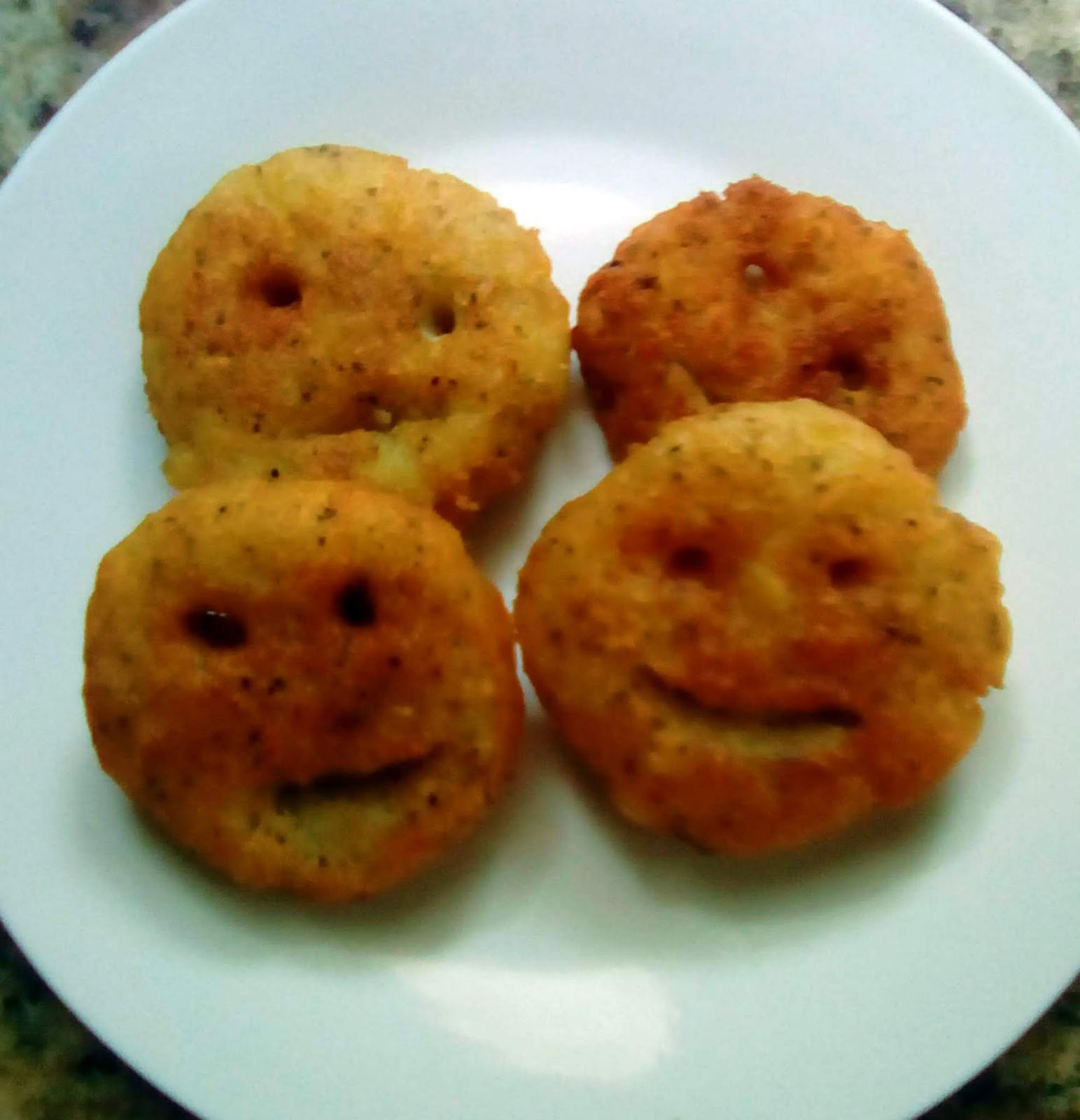 Homemade Allergy Friendly GlutenFree DairyFree Potato Smilies