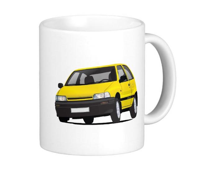 Daihatsu Charade GTti coffee mug