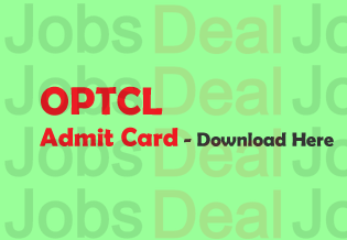 OPTCL Admit Card 2017
