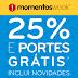 Hoje é dia de... Momentos Wook! - 25% Desconto e Portes Gratis em Livros