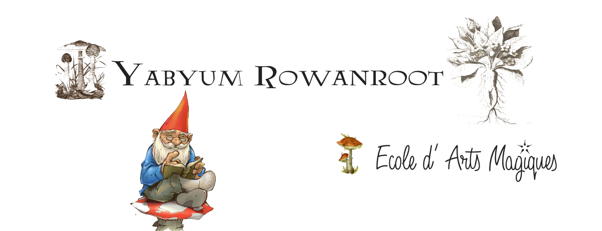☆☾ °Yabyum Rowanroot  ☾  Ecole d'Arts Magiques ©  all rights reserved ° ☆. *  ☆ Site Officiel