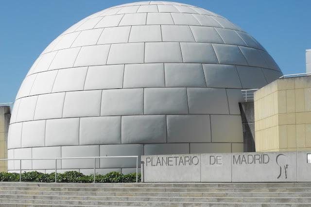 Planetário em Madri