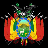 Logo Gambar Lambang Simbol Negara Bolivia PNG JPG ukuran 200 px
