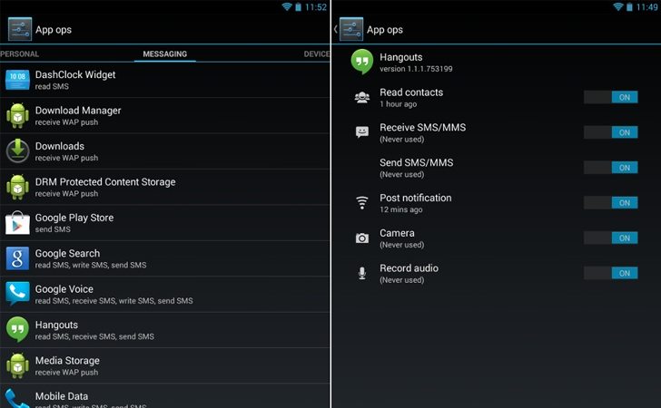 AppOps-android-permission-manager