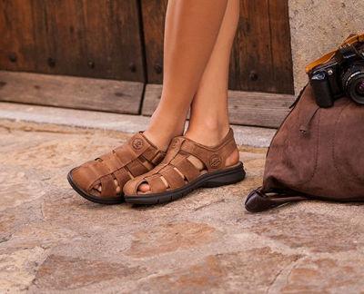 gesloten sandalen heren