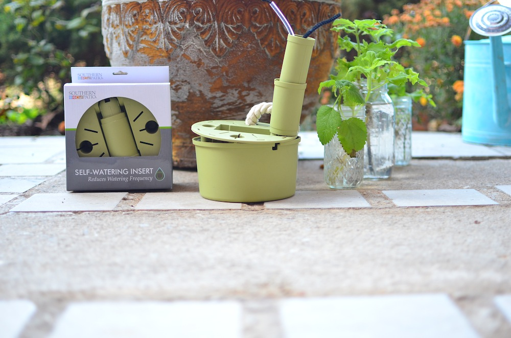 Self Watering Southern Patio Pot Insert at A Nest for All Seasons with Amy Renea